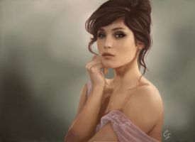 Gemma Arterton by CauliflowerArt
