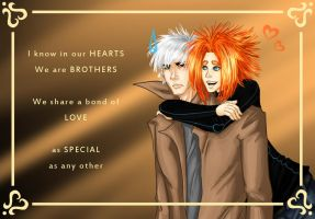 Valentine gift Brother love by Sferath
