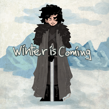 Winter is Coming by BusyBuzu