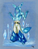 Glaceon mage by wolfgangcake