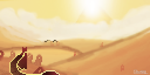 'Journey' Pixel-Fan-Art by pumpkinNPC