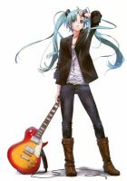 miku hatsune 3rd release by iverlacsa