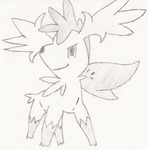 Shaymin simple drawing by LiatLNS