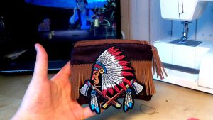Indian Wallet/Coin Purse Hand Made by ChiruNoCosplay
