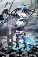 Black Rock Shooter BEAST by Inushio