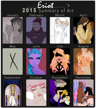 2015 art summary by Creationfail