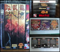 Double Dragon NES Trilogy by vladictivo