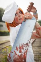 Cosplay - One big cleaver by Evadoll