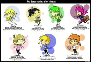Seven Con Virtues by bwingbwing