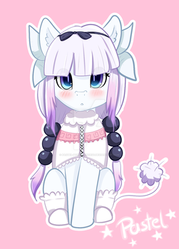 Ravioli ravioli, here have my dragon loli by pastel-pony-princess