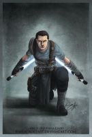The Force Unleashed II: Starkiller by KaelaCroftArt