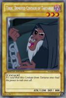 Demoted Tirek (MLP): Yu-Gi-Oh! Card by PopPixieRex