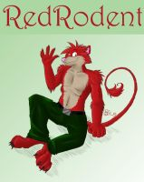 RedRodent by GothWolf-Lucifur