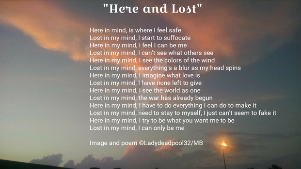 Here and Lost by LadyDeadPool32
