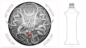 Dragon Medallion by photosynthesist