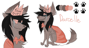 Darcelle ref by Peculiar-NomNom