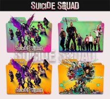 Suicide Squad 2016 Folder Icon by sonerbyzt