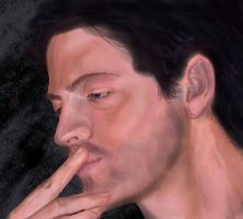 Misha Collins by hydraa