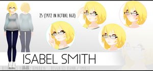 Many Faces Of Isabel by iixv