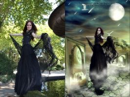 Black Fairy Stock Art by SusanaDS-Stocks