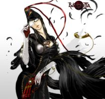 Bayonetta fan art by redrain