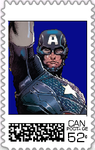 Captain America Postage Stamp 2 by WOLFBLADE111