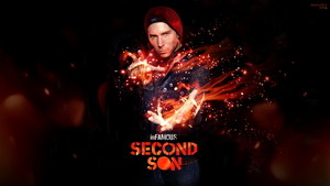 The Real Second Son by jessicarae24