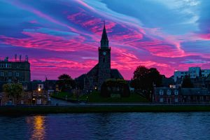 Inverness Sunrise by Weevil07