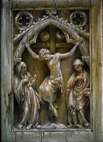 Ivory Gothic Bas-Relief by florian-lipan