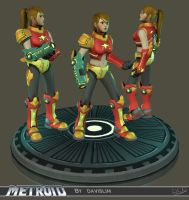 Samus Redesign - Beauty Shot 2 by davislim