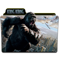 King Kong Folder Icon by wchannel96