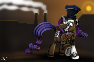 Fanart - MLP. A Clockwork Rarity by jamescorck