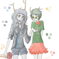 Cerulean and Jade by modern-guilt