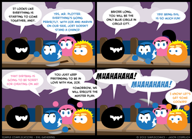 SC199 - Evil Gathering by simpleCOMICS