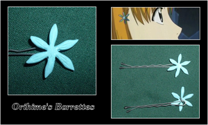 Orihime's Barrettes by rebootmaster2001