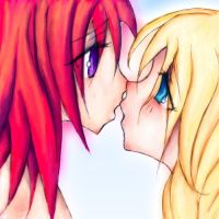 Kairi x Namine Icon by NoTickleElmo