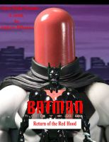 Batman Beyond Return of the Red Hood Cover by GhostLord89