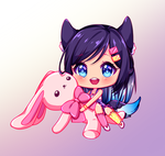 [217] [+Video] Chibi commission for DindaNda by luce1301