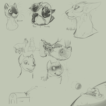 KaW | Doodle Dump by MissAlmighty