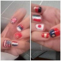 Hetalia Nails by Doriri-chan