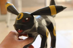 Umbreon Attack III by KokoroPapercraft