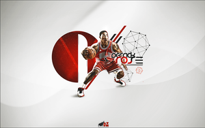 Derrick Rose Wallpaper by mattH27