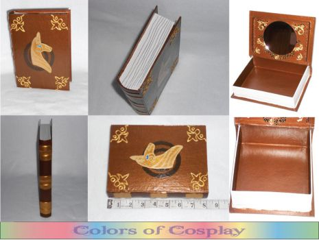 Twilight's Elements of Harmony Jewelry Box or Prop by Airashii-Enjuku