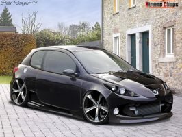 Peugeot 206 by ChitaDesigner