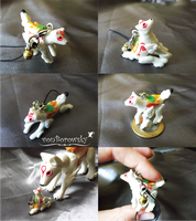 Micro Poseable Amaterasu by vonBorowsky