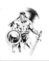 CONAN_the WARRIOR by MichaelBair