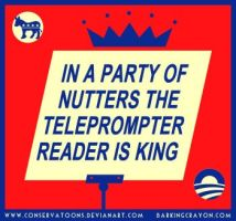 Obama the Nutters' King by RedTusker