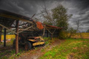 Old Rust and Heavy Sky by Enkased