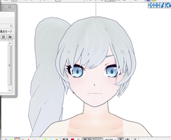 mmd weiss WIP by whimsicottsh