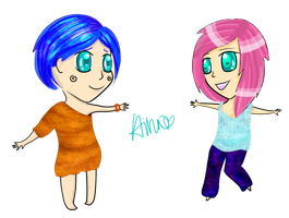 Lillith and Lynne [contest entry] by hinapuff